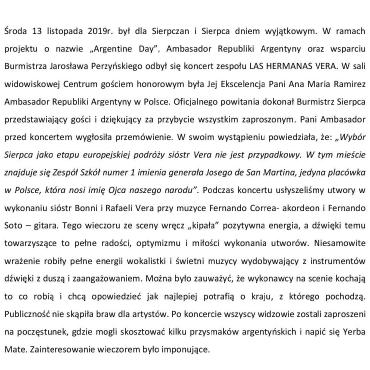13.11.2019 KONCERT LAS HERMANS VERA