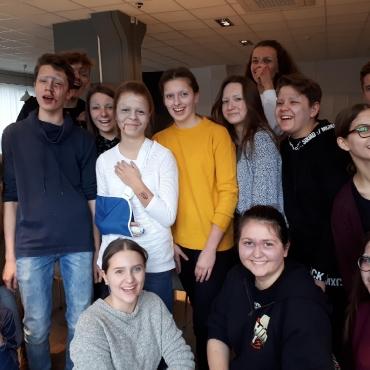 Szkolenie umiejętności charakteryzacji oraz zwiedzanie planu filmowego w Wytwórni Filmów Fabularnych i Dokumentalnych w Warszawie_12